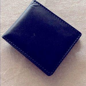 JSA.Bank Men's Leather Wallet NWOT